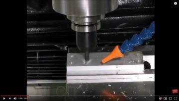 Il video della lavorazione CNC fallisce ... non da HBC :-)